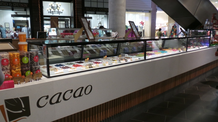 Cacao, Highpoint Store
