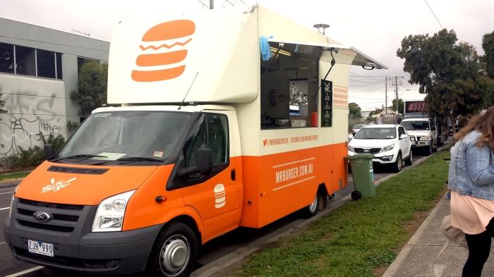 Mr. Burger Food Truck, Yarraville Gardens