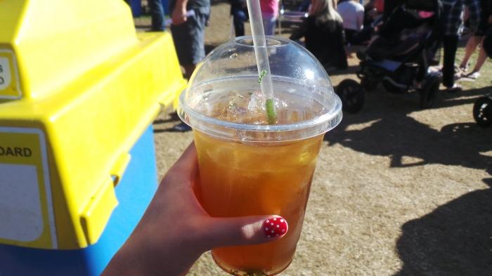 Ginger Lemon & Mint IceTea, $5