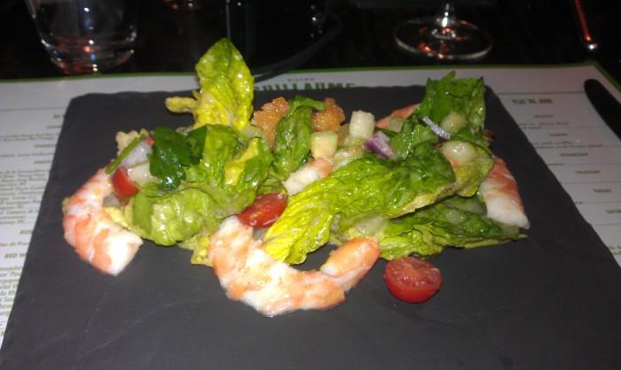 King Prawn Salad, $24