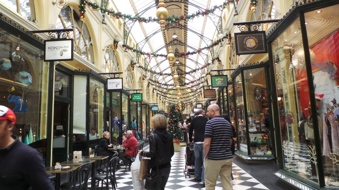 Melbourne's Royal Arcade