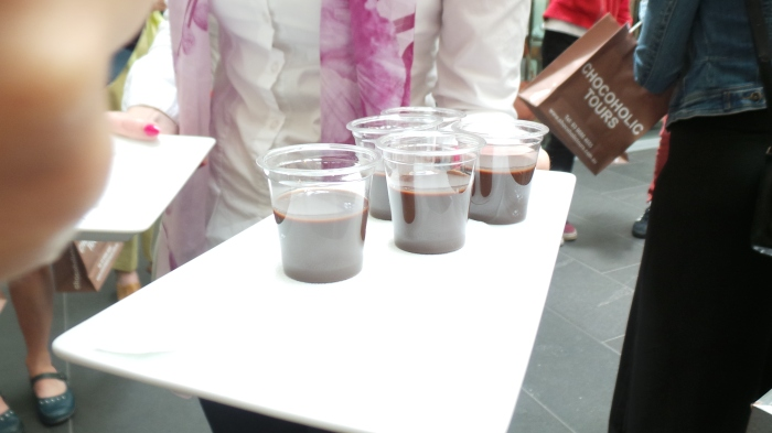 Dark chocolate shots, Cacao Fine Chocolates & Patisserie