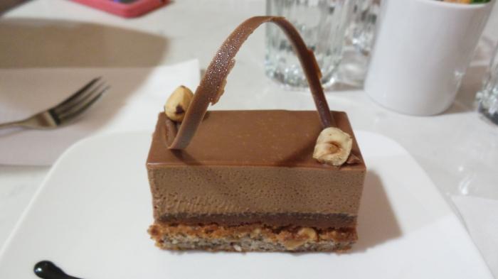 Hazelnut Fau Slice