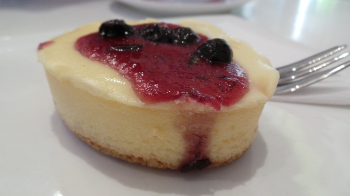 Blueberry Cheesecake, $4.5