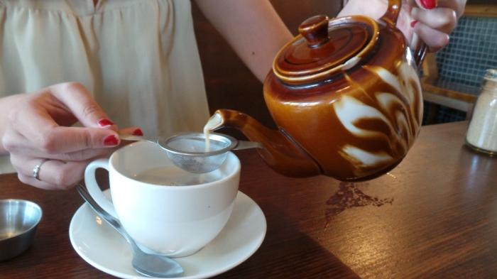 Pot of Chai Tea,