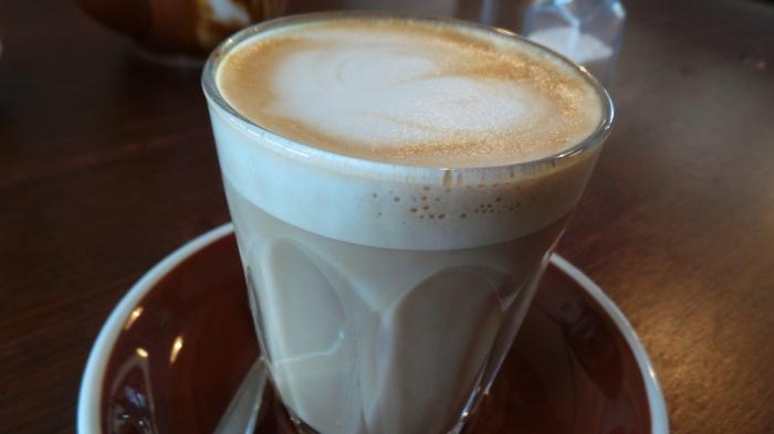 Skinny latte, $3.6