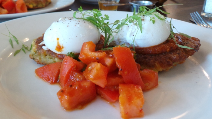 Corn Fritters, $17