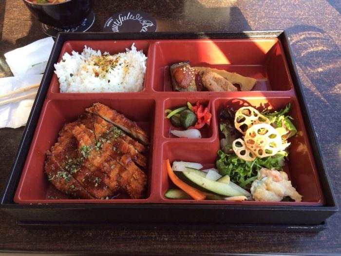 Tonkatsu Bento, $17