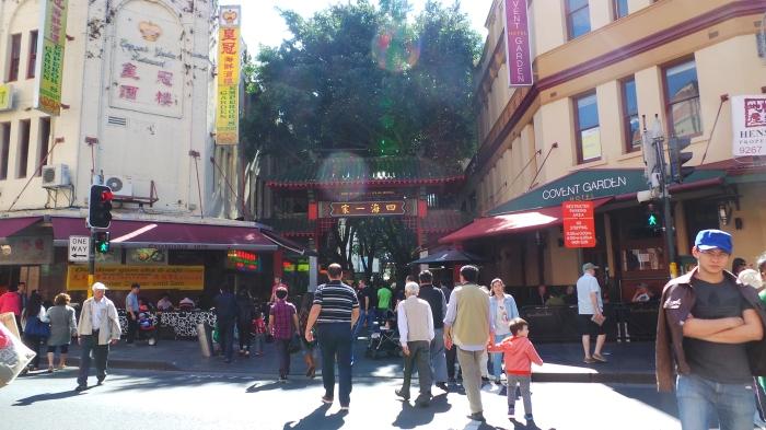 Chinatown, Haymarket