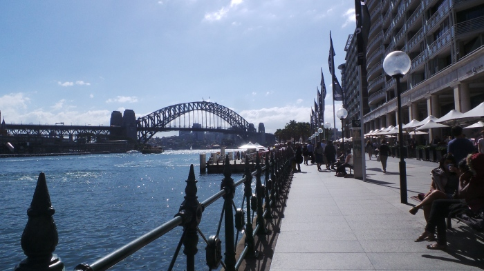 Sydney Harbour Bridge, Circular Quay