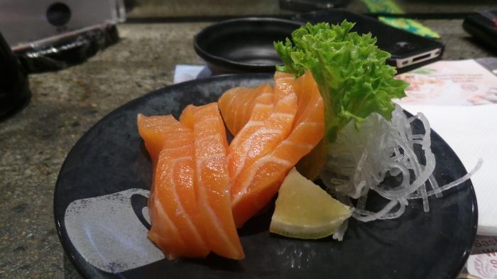 Fresh Sashimi, $6.9