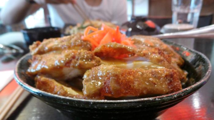 Chicken Katsu Curry, $15.8
