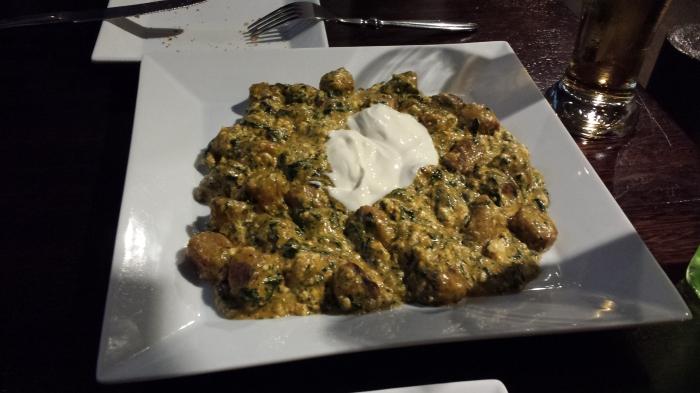 Spinach & Ricotta Fufu, $10.95