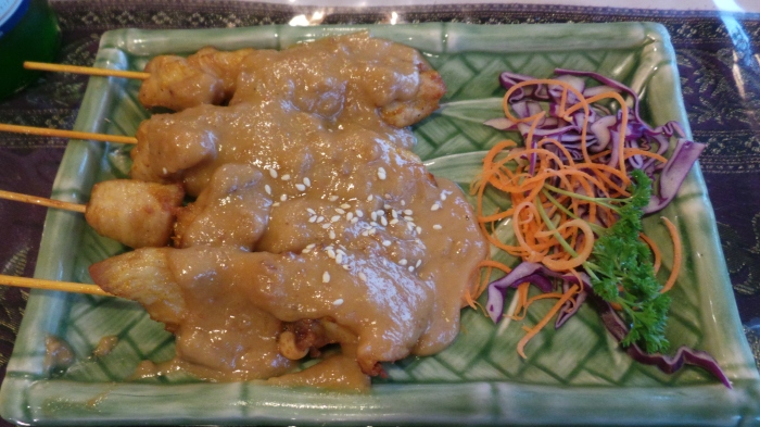 Satay Chicken, $7.9