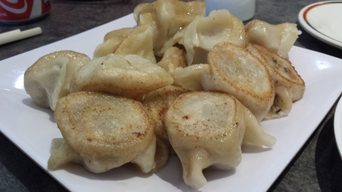 Pan Fried Pork Dumplings,