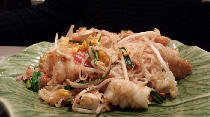 Seafood Pad Thai, $16.9