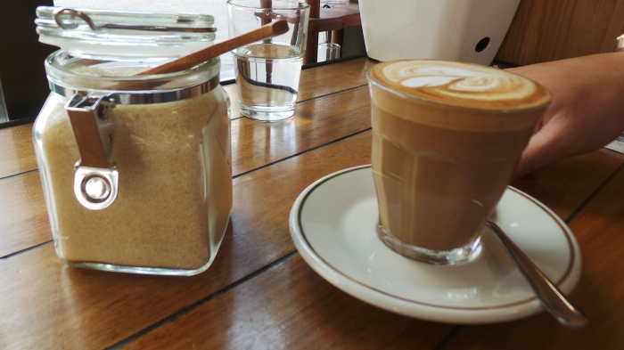 Latte, $3.6
